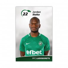 Колекционерска картичка на Джордан Икоко
