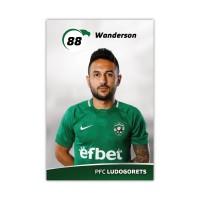Колекционерска картичка на Вандерсон