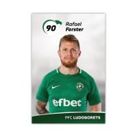 Колекционерска картичка на Рафаел Форстър
