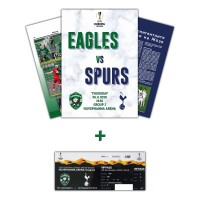 Ludogorets - Tottenham Hotspur Magazine and collector's ticket