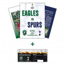 Ludogorets - Tottenham Hotspur Magazine and collector's ticket