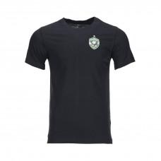 Training Cotton Shirt in Black