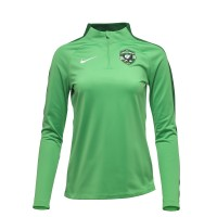 Woman's Tracksuit Top In Green