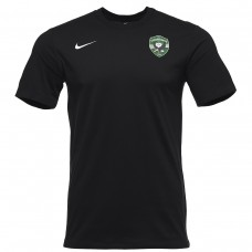 Training Cotton Shirt in Black