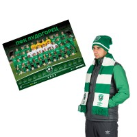 Winter hat and scarf + A team calendar for 2020