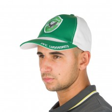 Baseball Cap in Green and White