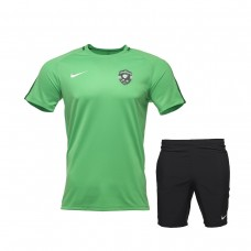 Green Training Shirt and Free-time Shorts