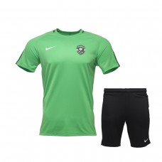 Green Training Shirt and Training Shorts