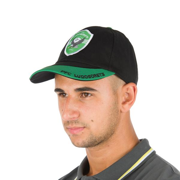Baseball Cap in Green and Black